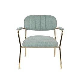 Fotelja Jolien Gold/Light Green