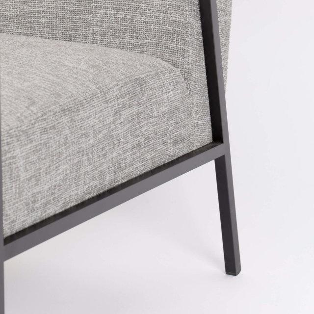 Fotelja Wakasan Light Grey