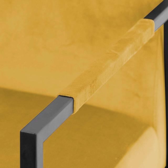 Fotelja Wakasan Yellow