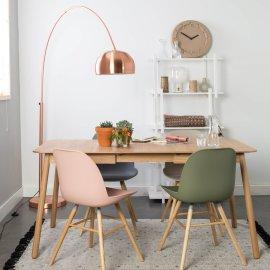 Produljivi stol Glimps 120/162x80 cm Natural
