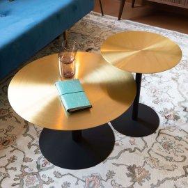Stolić za kavu Snow Brushed Brass