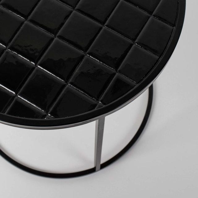 Pomoćni stolić Glazed Black